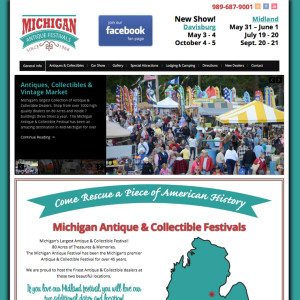 mi-antique-festival-website-screenshot