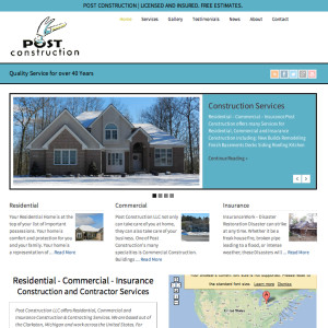 post-construction-llc-website-screenshot